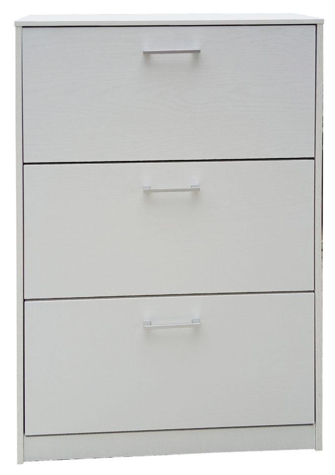 Kit Scarpiera Twice Bianco 3A Cm.62X24X110H