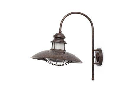 Winch lampada da parete