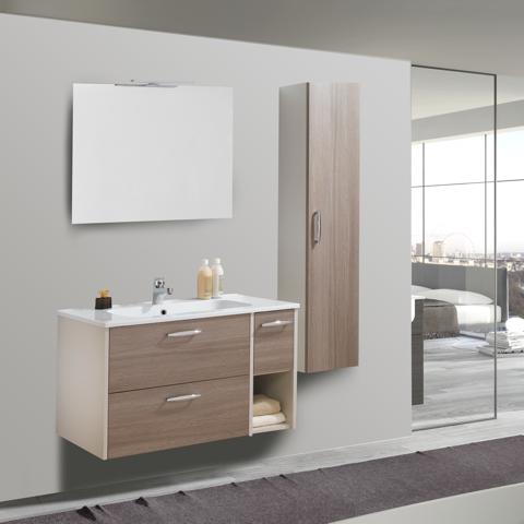 Mobile bagno composizione alba delait design light decor for Arredo bagno alba
