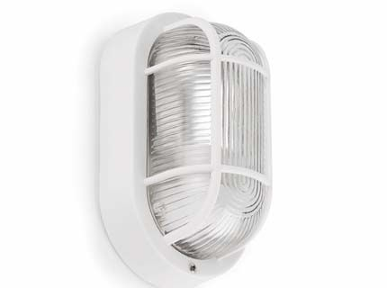 Ovalo lampada da parete
